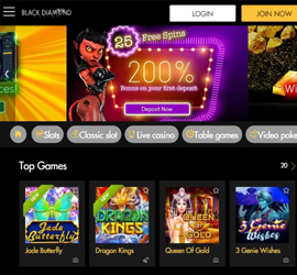 black-diamond-mobile-casino-screenshot