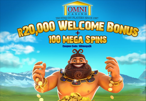 Omni Casino Website Screenshot